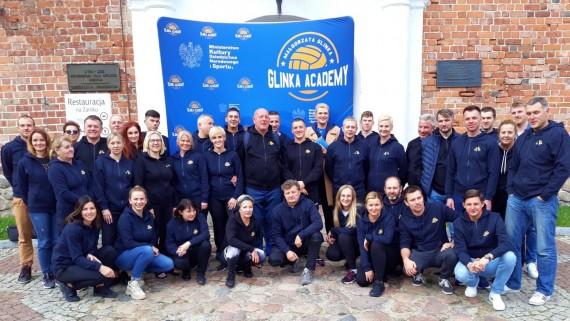 Pięćdziesięciu trenerów Glinka Academy szkoliło się w Uniejowie